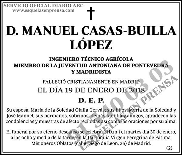 Manuel Casas-Builla López